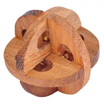 Puzzle din lemn - Chinese Wheel - Leonardo da Vinci