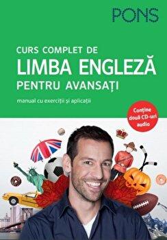 Curs complet de limba engleza pentru avansati. PONS (contine cd)/*** imagine elefant.ro 2021-2022