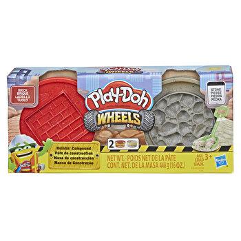 Play-Doh, Set Wheels - caramida si piatra