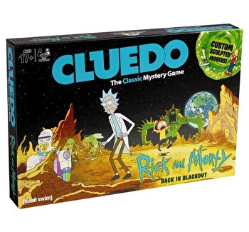 Joc Cluedo - Rick and Morty