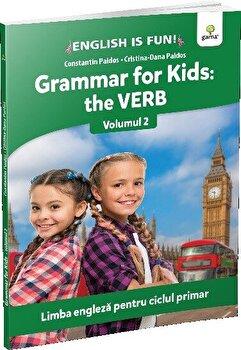 Coperta Carte Grammar for kids: the Verb