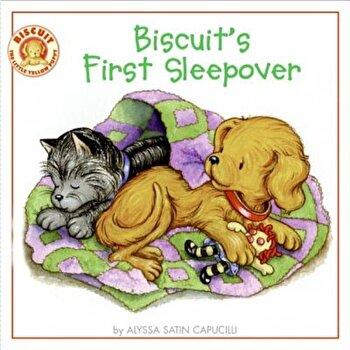 Biscuit's First Sleepover, Paperback/Alyssa Satin Capucilli poza cate