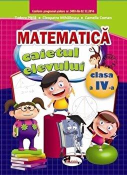 Caiet Matematica, clasa a IV-a/Pitila Mihailescu