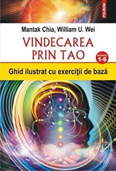 Vindecarea prin Tao. Ghid ilustrat cu exercitii de baza. Nivelurile 1-6-Mantak Chia, William U. Wei imagine