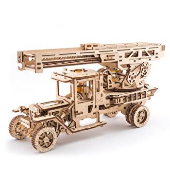 Puzzle 3D - Camion UGM-11 Pompier, 537 piese