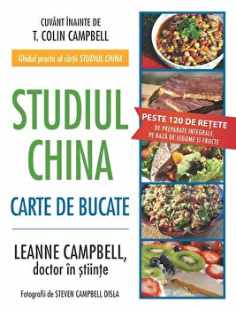 Studiul China. Carte de bucate/LeAnne Campbell imagine elefant.ro