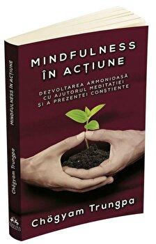Mindfulness in actiune. Dezvoltarea armonioasa cu ajutorul meditatiei si a prezentei constiente/Chogyam Trungpa poza cate