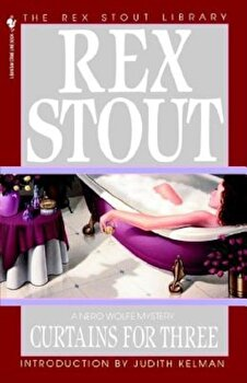 Curtains for Three, Paperback/Rex Stout poza cate