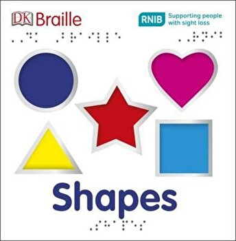 DK Braille Shapes, Hardcover/*** poza cate