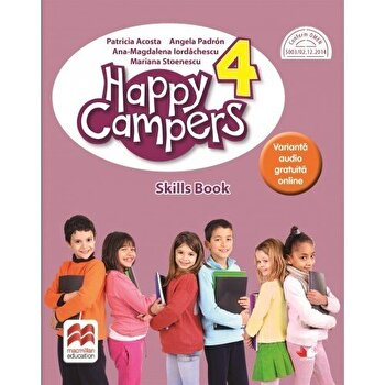 Happy campers. Skills Book. Clasa a IV-a/***