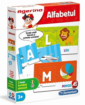 Agerino - Joc educativ Alfabetul