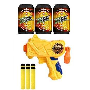 Pistol Micro X-Shot, 6 sageti si 3 cutii