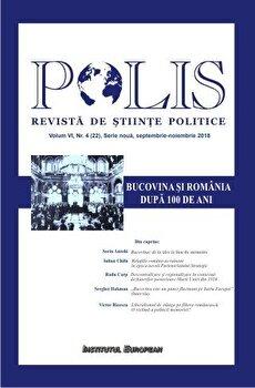 Polis. Bucovina si Romania. Dupa 100 de ani/***