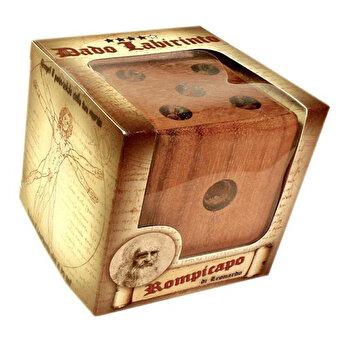 Puzzle din lemn Labyrinth Dice - Leonardo da Vinci