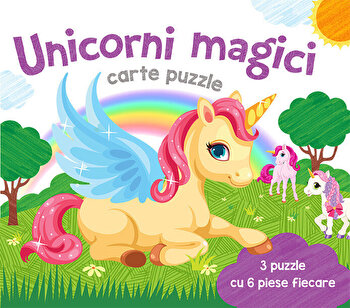 Unicorni Magici - Carte puzzle/*** imagine elefant.ro 2021-2022