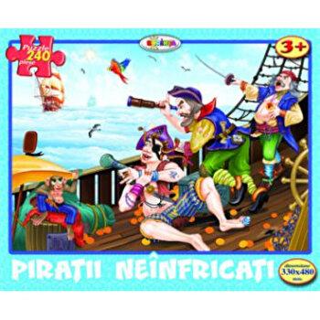 Puzzle - Piratii neinfricati (240 piese)-*** imagine