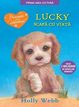 Lucky scapa cu viata/Holly Webb