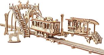 Puzzle 3D - Tramvai cu statie, 284 piese