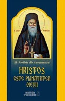 Coperta Carte Hristos este plinatatea vietii