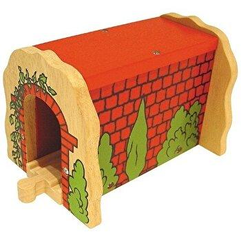 Tunel caramida, din lemn