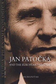 Studia Phaenomenologica Vol. VII/2007: Jan Patocka and the European Heritage/Cristian Ciocan imagine elefant.ro 2021-2022