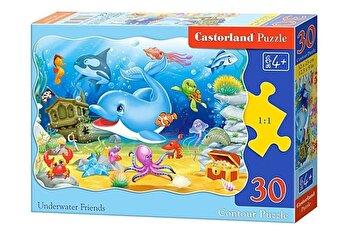 Puzzle Prieteni subacvatici, 30 piese