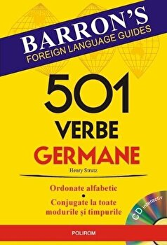 501 verbe germane/Henry Strutz imagine elefant.ro 2021-2022