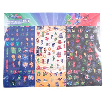 Set Mega Sticker Eroi in pijama, 400 abtibilduri