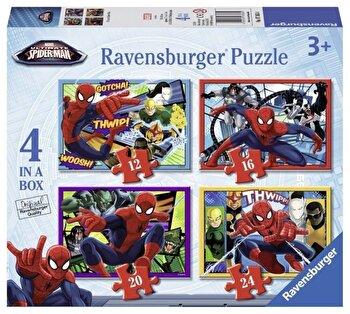 Puzzle 4 in 1 - Spider-Man, 72 piese