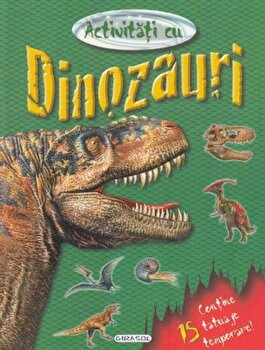 Activitati cu dinozauri - tatuaje/*** imagine