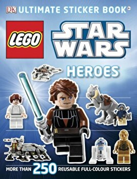 LEGO Star Wars Heroes Ultimate Sticker Book/*** poza cate