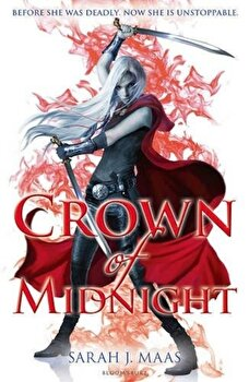 Crown of Midnight (Throne of Glass)/Sarah J. Maas poza cate
