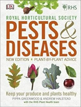 RHS Pests & Diseases, Hardcover/*** poza cate