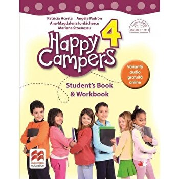 Happy campers. Student Book, Workbook. Clasa a IV-a/***