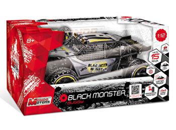 Masina cu telecomanda Black Monster 1:12