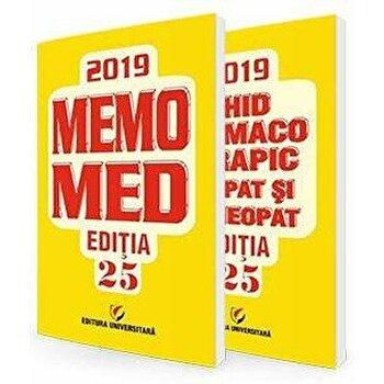 Coperta Carte MemoMed 2019, Editia XXV - Volumele I si II