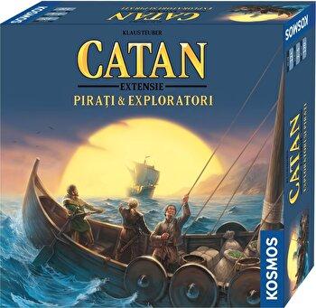 Catan - extensie Pirati & Exploratori