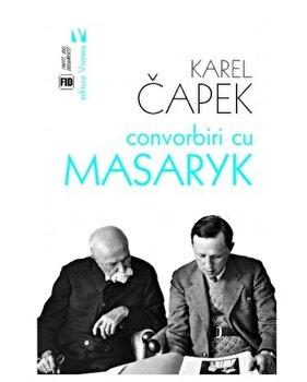 Coperta Carte Convorbiri cu Masaryk