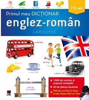 Primul meu dictionar englez-roman/Larousse imagine elefant.ro 2021-2022