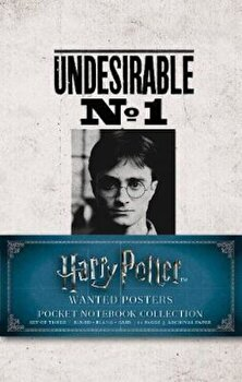 Harry Potter: Wanted Posters Pocket Journal Collection/*** image0