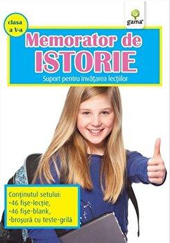 Memorator de Istorie, clasa a V-a. Suport pentru invatarea lectiilor/***