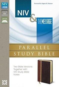 Parallel Study Bible-PR-NIV/MS, Hardcover/Zondervan imagine