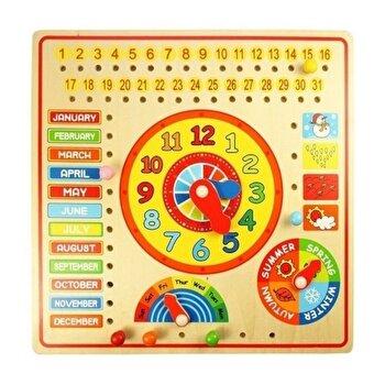 Set Calendar lemn