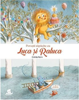 Povesti zapacite cu Luca si Raluca/Clotilde Perrin