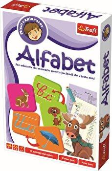 Joc educativ Micul explorator- Invata alfabetul