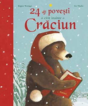24 de povesti de citit inainte de Craciun/Brigitte Weninger