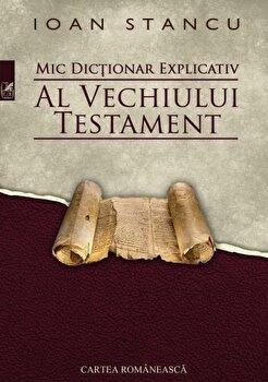 Mic dictionar explicativ al Vechiului Testament/Ioan Stancu imagine elefant.ro 2021-2022