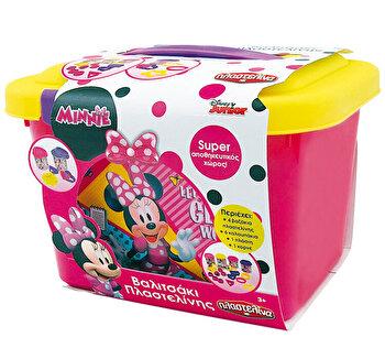 Valizuta plastilina si forme - Minnie Mouse