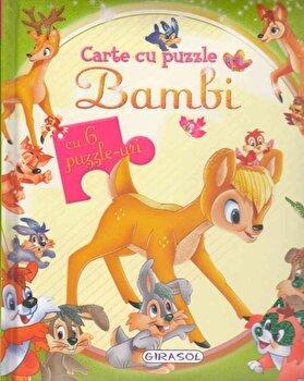 Carte cu puzzle - Bambi/*** poza cate