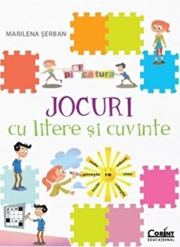 Jocuri cu litere si cuvinte/Marilena Serban imagine